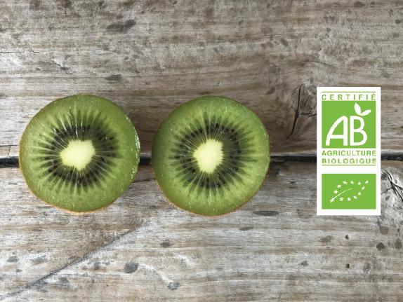 Kiwi bio label - Fort et Vert